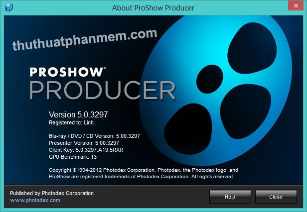 Proshow Producer Ключ Активации